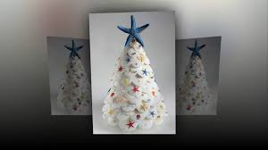 Seashell Christmas Tree by Alternative Christmas Tree Ideas Best Diy Christmas Tree Ideas