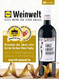 Berliner Kã Che Prämierte Weine Auf Lidl Weinwelt De Verbraucher Können