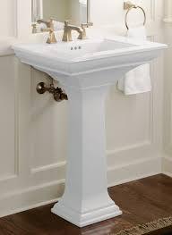 24 pedestal sink 3 pedestal sink structure vitreous china