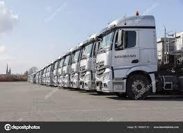 Burg Germany June 2017 German Mercedes Benz Actros Trucks Haulage ...