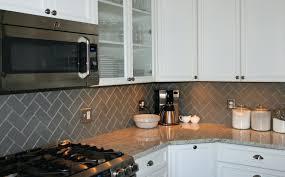 herringbone subway tile kitchen backsplash white beveled