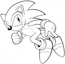 Cartoon Characters Coloring Pages 6 Free Printable Sonic The Hedgehog For Kids