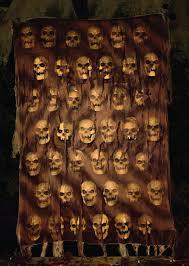 Halloween Scene Setters Uk by Catacomb Skull Wall Cloth Halloween Decoration Halloween Horror