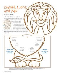 Bible Daniel In The Lions Den Craft