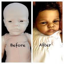NPK 23 Inch 58cm Reborn Baby Sleeping Soft Silicone Doll Handmade