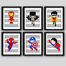 Vintage Superhero Wall Decor by Wall Art Ideas Design Charming Superhero Wall Art For Kids