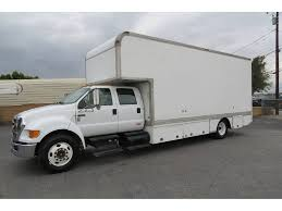 100 Crew Cab Box Truck 2004 FORD F650 XLT 22 Ft Van Grip Fontana