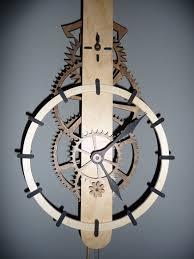 download free simple wooden gear clock plans plans diy workbench