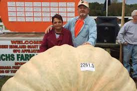 Heaviest Pumpkin Ever by Father Squashes Son U0027s Record For World U0027s Biggest Pumpkin New
