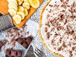 sommer dessert rezept für bananensplit kuchen ohne backen