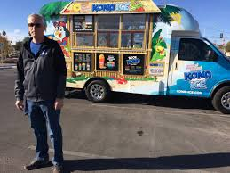 Retired Las Vegas Police Officer Trades Cuffs For Snow Cones | Las ... Snow Cone Express Opens In Big Creek Crossing Kona Ice Of Friscoallen Food Trucks In Frisco Tx Truck Selling Cream Stock Photos Snoco Tuscaloosa Roaming Hunger Local Man Uses Shaved Ice Truck To Help Raise Money For Ul Lafayette Allentown Area Getting Its Own 85 Ft Despicable Me Minions In Snow Cone Truck Airblown Lighted Shaved 12ft Apex Specialty Vehicles Mobile Cafe St Louis Foodtruckrentalcom Canby Businessman Fulfills Dream With Snow Cone News Sports Wikipedia