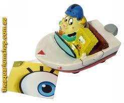 Spongebob Fish Tank Ornaments by Penn Plax Spongebob Squarepants Resin Replica Spongebob And Mrs