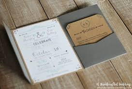 This DIY Rustic Chic Wedding Invitation Set Is Free To Download From A Handcrafted