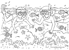 Summer Coloring Pages Free Online Kids