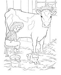 Image Detail For Cow Coloring Pages