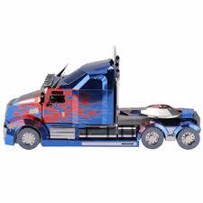 MU 3D Metal Puzzle Optimus Prime Truck Model DIY Laser Cut Assemble Jigsaw  Education Toys Desktop Decoration For Kids Audlt-in Puzzles From Toys & ...