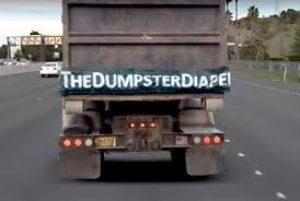 Dump Truck Diaper Covers Tailgate Gap, Prevents Debris Damage