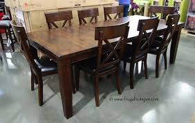 Interior Costco Dining Set Chairs Room Sets Kitchen Table In