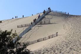 tvba la teste les escaliers de la dune du pilat présents pour