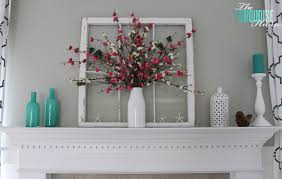 Vibrant Spring Mantel Ideas Home Garden Design Articles
