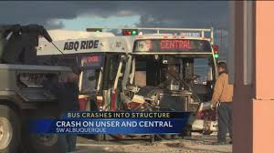 100 Rush Truck Center Albuquerque City Bus Accident On Central