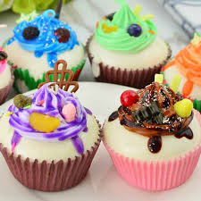 Realistic Artificial Fake Cake Cupcake Model Cup Display Photography Props Crafts Home Decoration