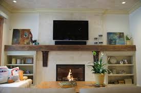 Living Room With Fireplace Design by Plaster Fireplace Designs Distressed Lime Plaster With Marsi