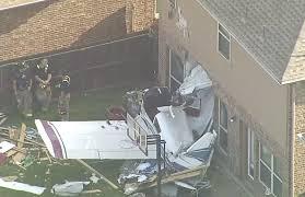 100 Housein Small Plane Crashes Into House In McKinney CBS Dallas