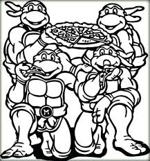 Coloring Pages Ninja Turtles Online Book For Toddlers Pizza