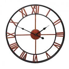 Horloge Mural 3d Achat Vente Pas Cher Achat Vente Horloge Murale Horloges Design Géante Couleur Cuivre