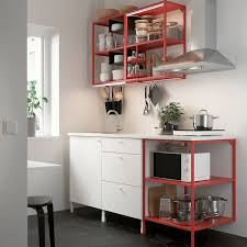 enhet küche rot weiß ikea deutschland