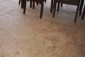Stamped Overlay Concrete Floor Finish