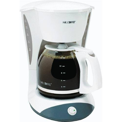Mr. Coffee Simple Brew 12-Cup Switch Coffee Maker - White