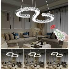 büromöbel 36w kristall deckenle design pendelleuchte led