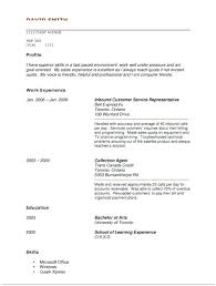 No Work Experience Resume Examples Job Format Doc