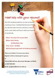 Resume Writing Workshop 2019 | Banyule Youth Services No Experience Rumes Help Ieed Resume But Have Student Writing Services Times Job Olneykehila Example Templates Utsa Career Center 15 Tips For Engineers Entry Level Desk Position Critique Rumes How To Create A Professional 25 Greatest Analyst Free Cover Letter Disability Support Worker Home Sample Complete Guide 20 Examples Usajobs Federal Builder Unforgettable Receptionist Stand Out Resumehelp Reviews Read Customer Service Of