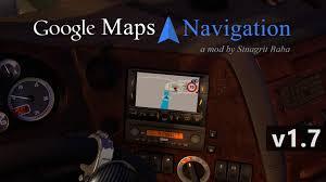 100 Google Maps Truck ETS 2 Navigation V17 ETS2 Mods Euro Truck