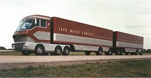 """Gear Head Tuesday – Ford's """"Big Red"""" Turbine Truck Of 1964 