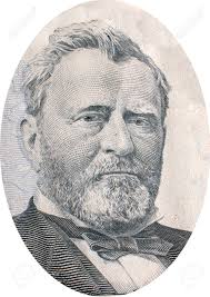 Engraving Of Ulysses S Grant Born Hiram April 27 1822 July 23