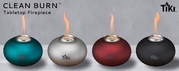 Rain Lamp Oil Walmart by Tiki Brand Clean Burn Pearl Of The Sea Tabletop Firepiece Teal