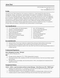 Project Manager Resumes Examples Resume Templates Download Hr Unique