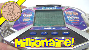 Who Wants To Be A Millionaire Electronic Handheld Game 2000 Tiger Electronics