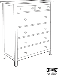 download ikea hemnes chest 6 drawers 43x52 assembly instruction