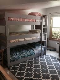 Dare Dorm Bed Buddies by Diy Triple Bunk Bed Plans Triple Bunk Bed Pdf Plans Wooden Plan