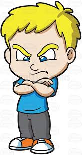 Boy Angry Clipart 29