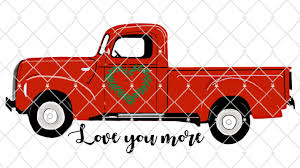 100 Vintage Truck Parts Pick Up Art Custom Print Personalized Red