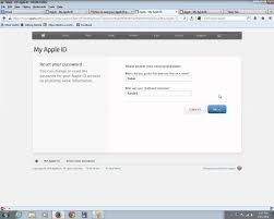 How to reset your apple id password with security questions in IOS