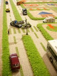 tapis de jeux voitures tapis enfant 3d ville vert tapis de jeux 3d