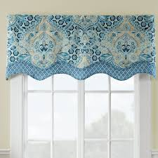 Waverly Curtains And Valances by Waverly Moonlit Shadows Wave Window Curtain Valance U0026 Reviews