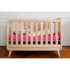 chambre bebe bois massif lit bébé vogue 60x120 cm bambins déco